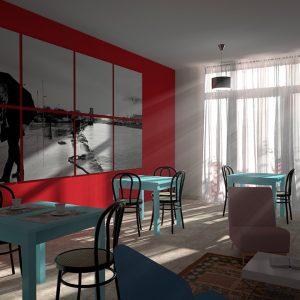 Rendering - Studio arredo ristorante